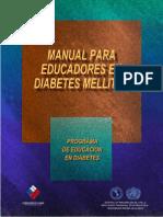 Educadores en Diabetes Mellitus