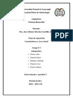 Grupo 3 - Prot s- Articuladores
