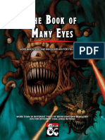 Xacur - The Book of Many Eyes - Beholders for 5e