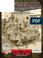 Flames of War III (Intelligence Briefing) - 53rd Welsh Division