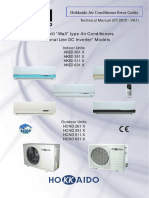Hokkaido Air Conditioner Manual PDF