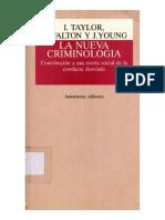La Nueva Criminología