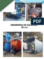 Brochure Ingenieria de Calderas Rl e.u. - Enero 2019