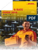 Dhl Express Rate Transit Guide Ph En