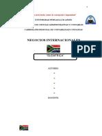 Análisis del País Sudáfrica
