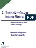 Tema2 3 Simplificacion de Funciones FC GII