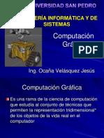 CLASE 1 Computación Gráfica