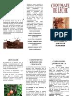 Chocolate Folleto
