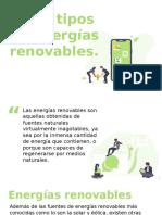 Presentación Fuentes de Energías Renovables