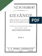 Schubert Lieder 5-1