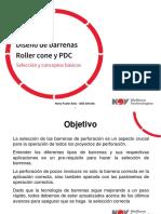 Diseño de Barrenas RC y PDC v2