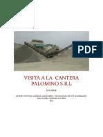 Visita a La Canteras Palomino
