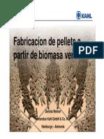 Fabricacion de pellets Perú