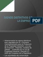 Signos Distintivos de La Empresa