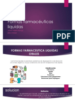 Formas Farmacéuticas Liquidas