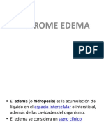 Sindrome Edema