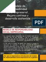 MODELO DE GESTION DE REPONABILIDAD SOCIAL EMPRESARIAL, MEJORA CONTINUA Y MEJORA CONTINUA