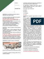 EXERCÍCIO DE LITERATURA