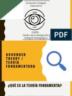 Grounded Theory - Teoría fundamentada