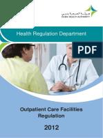 Outpatient Care Facilities Regulation