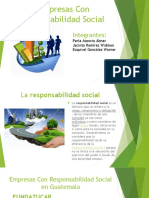 Empresas Con Responsabilidad Social