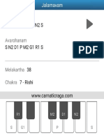 Melakartha Ragas from Carnatic Raga app