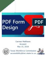 Matthews Carmen PDF Form Design