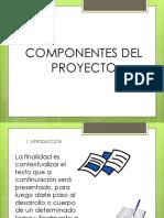 Componenetes-proyecto