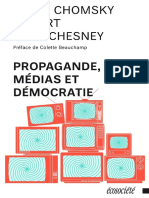 Propagande, Médias Et Démocratie - Noam Chomsky