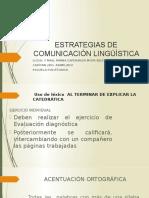 2 Estrategias de Comunicación Linguistica