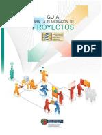 18.- Guia Para La Elaboracion de Proyectos