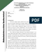 MÓDULO II La Organización