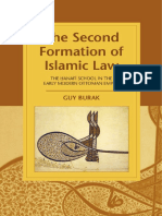 [Cambridge Studies in Islamic Civilization] Guy Burak - The Second Formation of Islamic Law_ The Hanafi School in the Early Modern Ottoman Empire (2015, Cambridge University Press).pdf