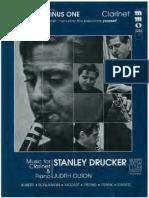 Music for Clarinet & Piano Stanley Drucker & Judith Olson Intermediate Level