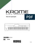 Manual Korg Krome