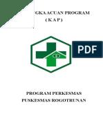 Kerangka Acuan Program Perkesmas Uptd Pkm Rogotrunan 1