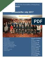 香港脊醫 Hong Kong Chiropractors July 2017