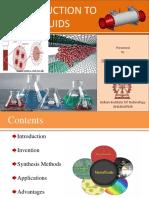 Presentation  Nanofluid