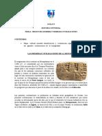 Material No. 3guc3ada-Nc2ba2-Tema-i Egipto y Mesopotamia