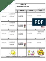 6 - 2019 June Activity Calendar University Manor