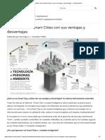 Análisis de Las Smart Cities Con Sus Ventajas y Desventajas - Construction21