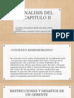 Analisis Del Capitulo II