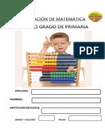 EVALUACIÓN DE  CUARTO DE  MATEMÁTICA entrada 2019 II.pdf