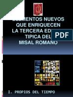 Elementos Nuevos Misal Romano