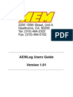 AEMLog Users Manual V1.01
