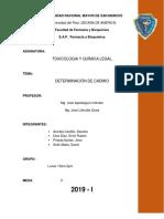 Informe Cadmio Mesa 3