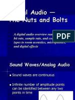 Digital Audio - Nuts and Bolts