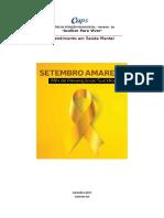 Projeto  Setembro AMARELO- Prevenção ao Suícidio