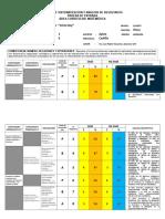 Matriz de Sistematización y Análisis de Resultados 2009