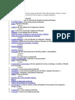 Revistas Filosofc3ada en Lc3adnea
